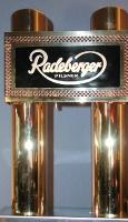 Metall-Schanksäule exklusiv für Radeberger Exportbierbrauerei