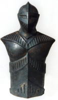 Sonder-Schanksäule Ritter (Keramik)